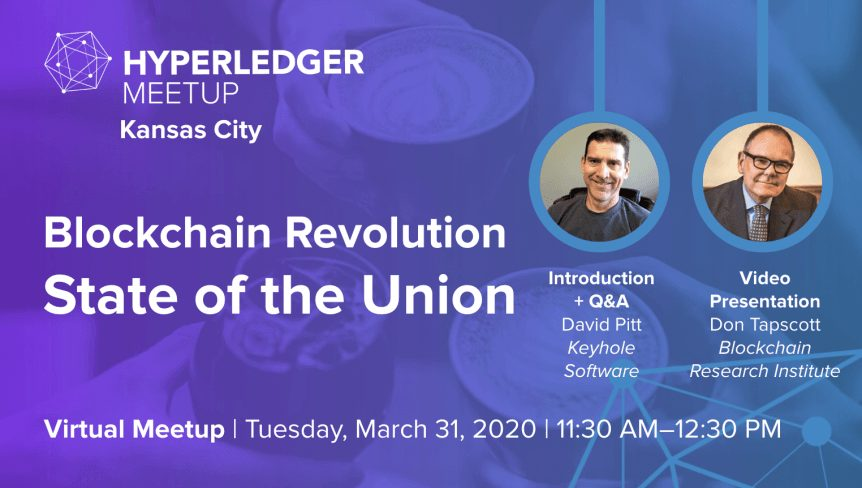Hyperledger User Group - Blockchain State of the Union