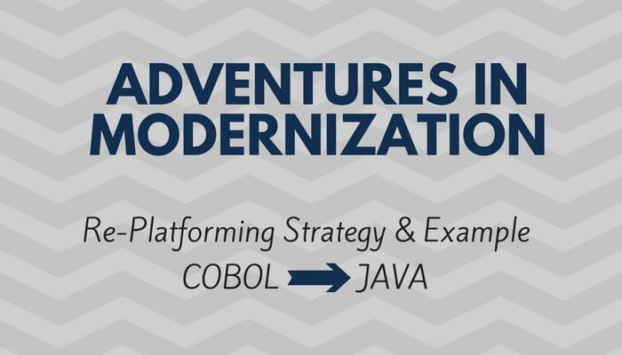Cobol to Java
