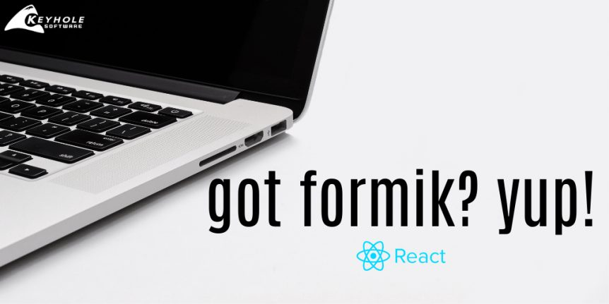 Formik with React