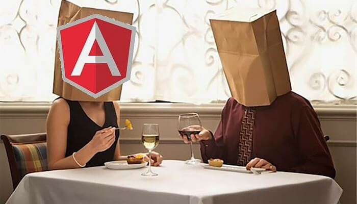 Angularjs Blind date