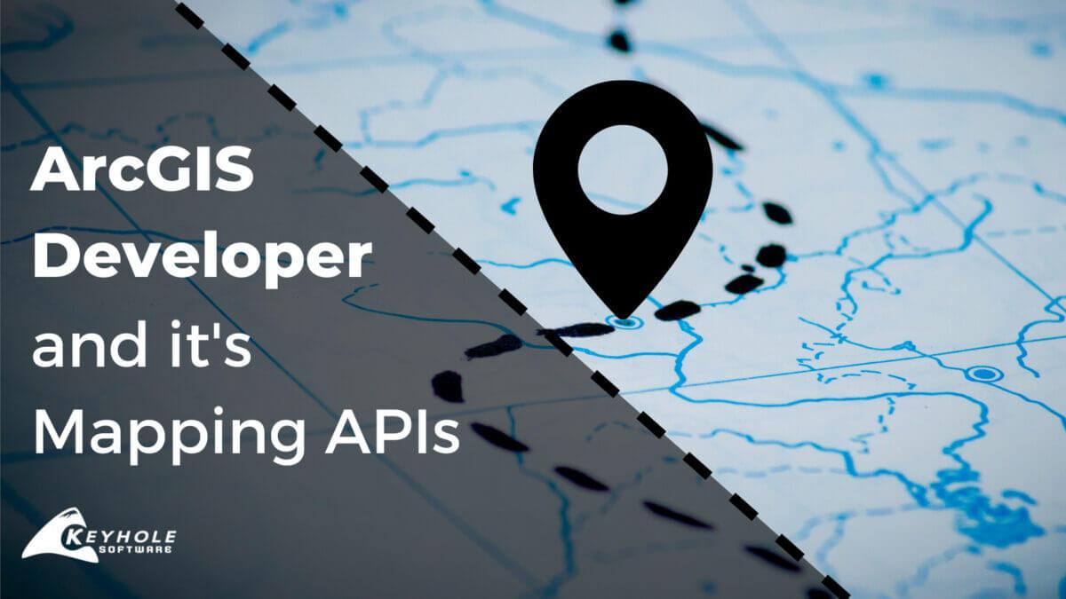 ArcGIS Developer Mapping APIs