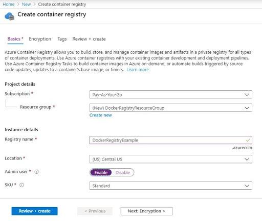 Azure Container Registry