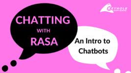 Chatbot with Rasa