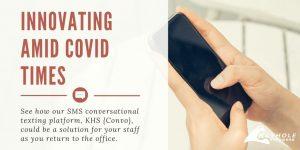 SMS conversational app