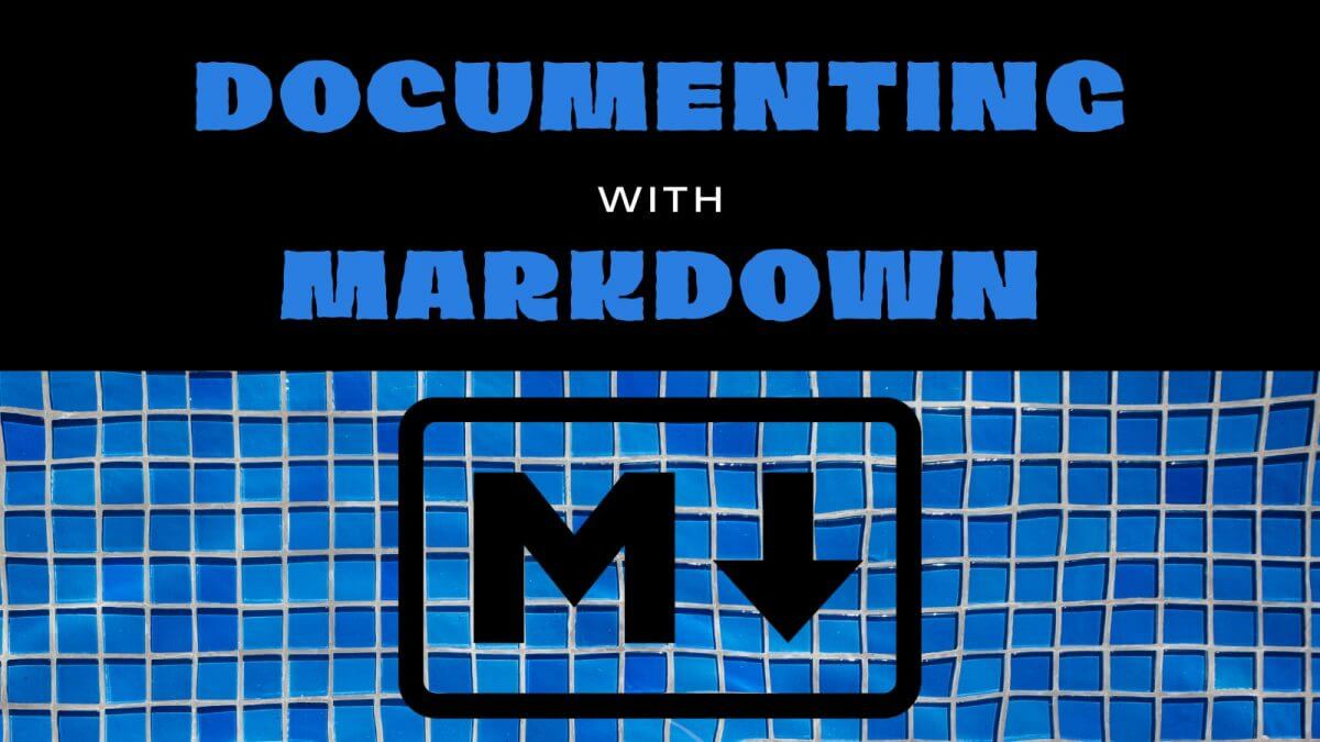 Markdown for Documenting