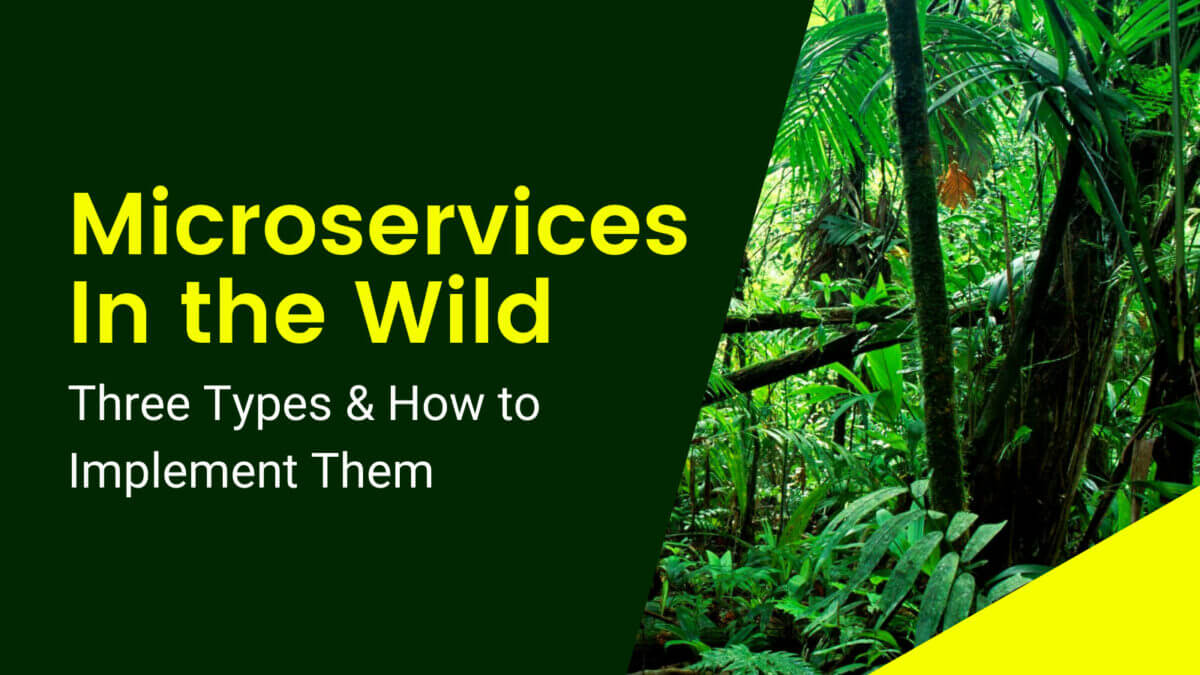 Microservices In the Wild