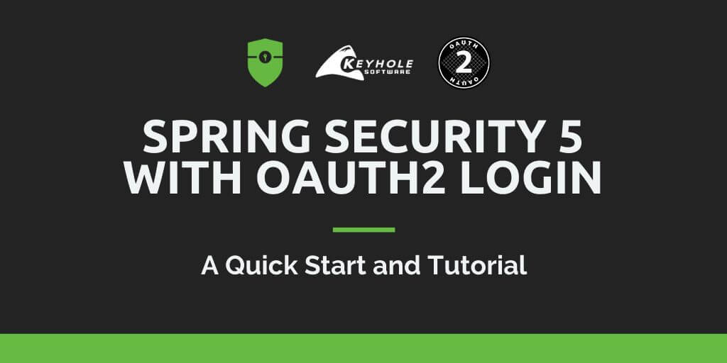 Spring Security 5 with OAuth2 Login