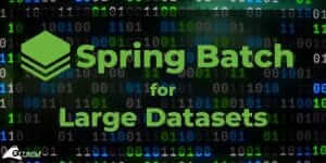Large Datasets with Spring Batch