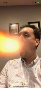 Tastes Like Burning: An Example of ARKit and iOS Particle