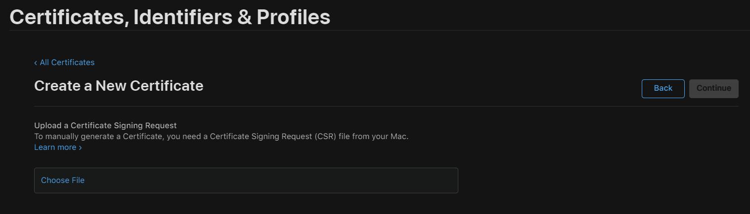 Set Up Push Notifications for iOS Platform